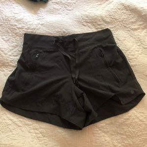 stretchy shorts for the woman on the go! Size S